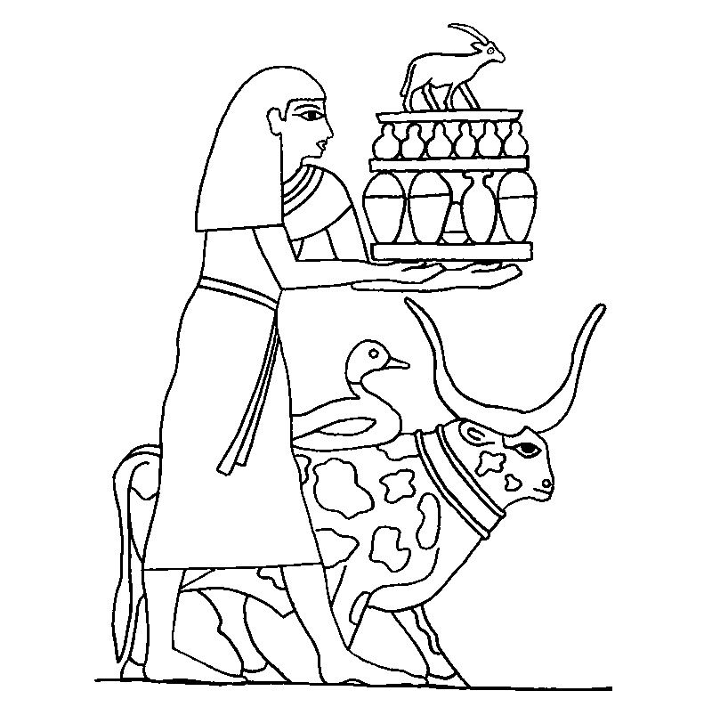 Ancient egypt coloring pages to download and print for free | Egipto ...