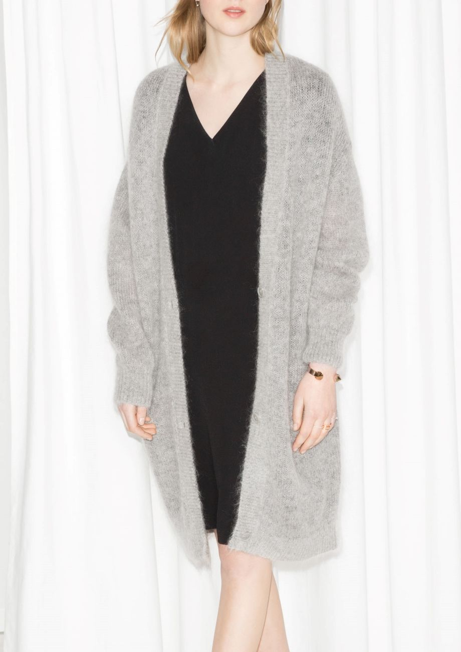 94205d508174 & Other Stories | Wool Blend Cardigan | Style | Wool blend, Wool ...