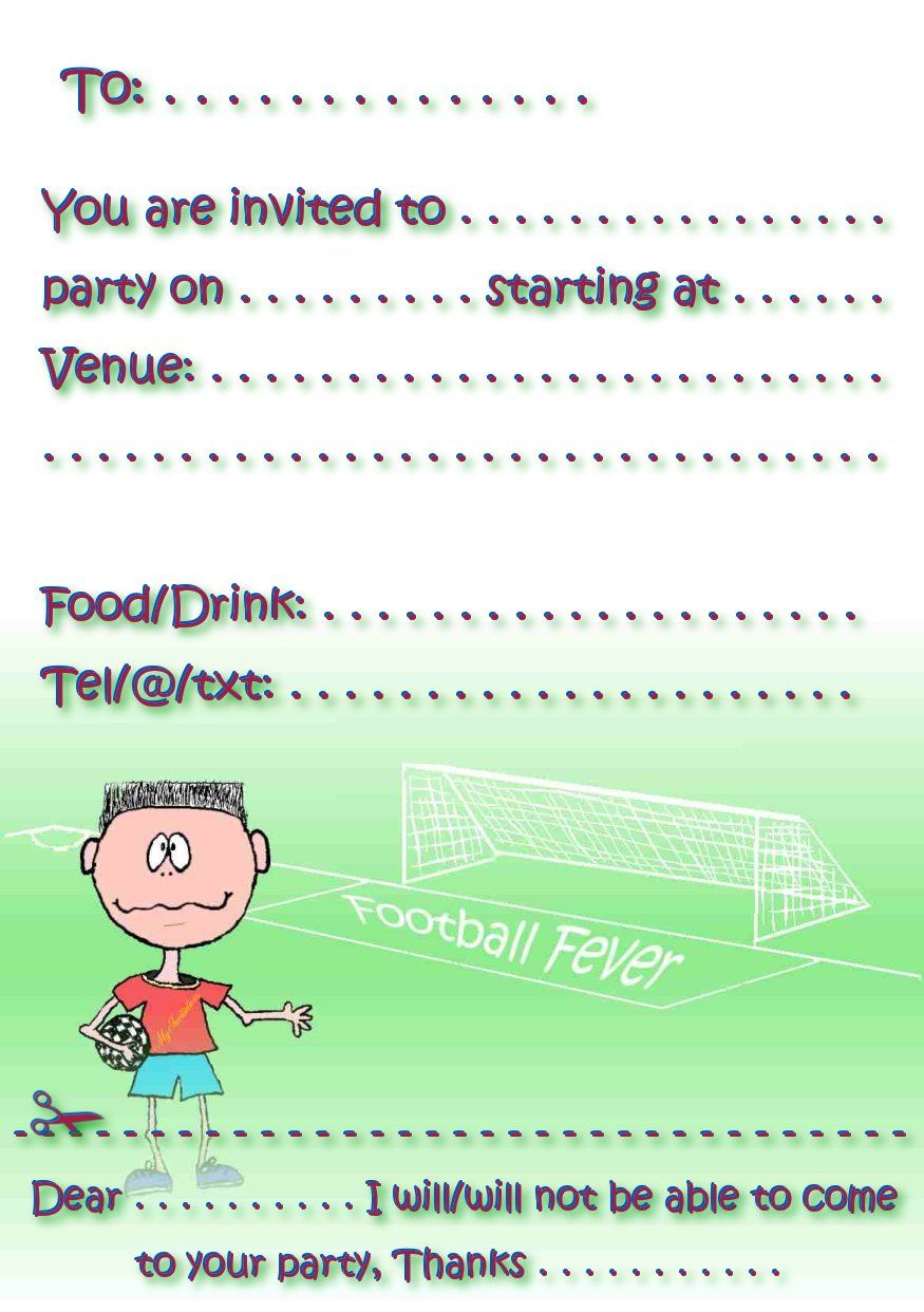 Cool Free Birthday Party Invitations | FREE Printable Invitation ...