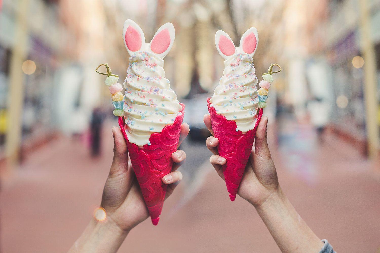 Fish-shaped ice cream cones | Ice cream cone, Event ...