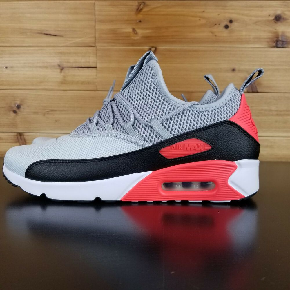 ec5316deeaac3 Nike Air Max 90 EZ Infrared Gray Black AH5211-002 Women's Shoes ...