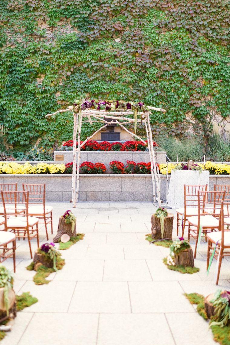 Purple & Chic Nature Inspired Wedding   Nature inspired wedding ...
