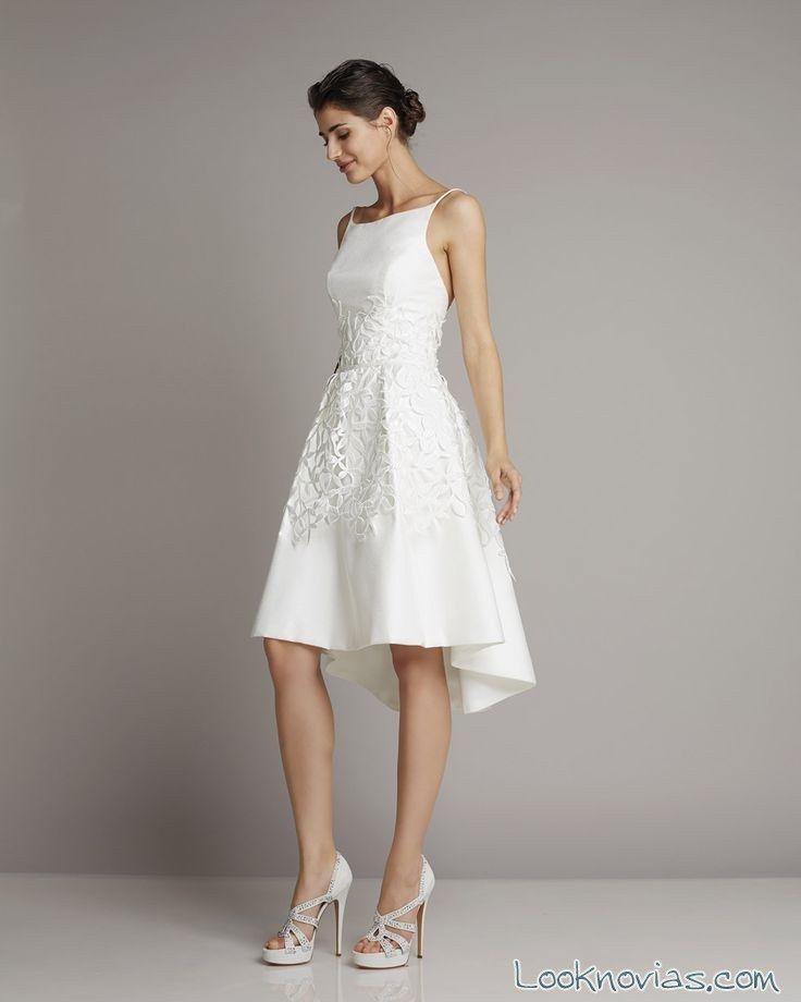 vestidos de novia 2016 cortos - buscar con google | vestidos novia