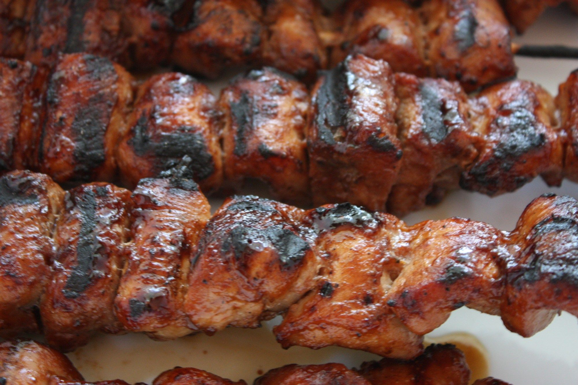 Delicious pork kebab: a step by step recipe 10