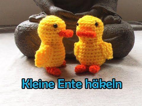 Kleine Ente häkeln - Romy Fischer Häkelanleitung - YouTube | ostern ...