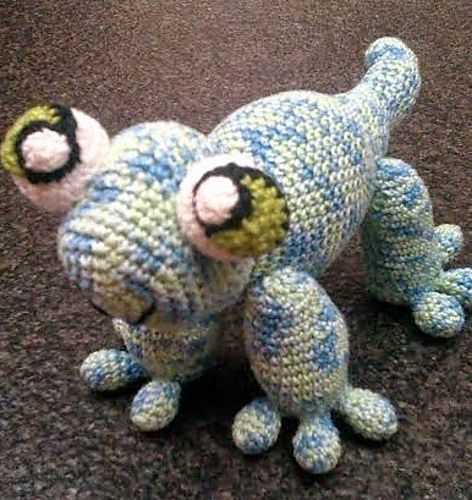 Sacha de Salamander - Free Amigurumi Pattern - Dutch and English PDF ...