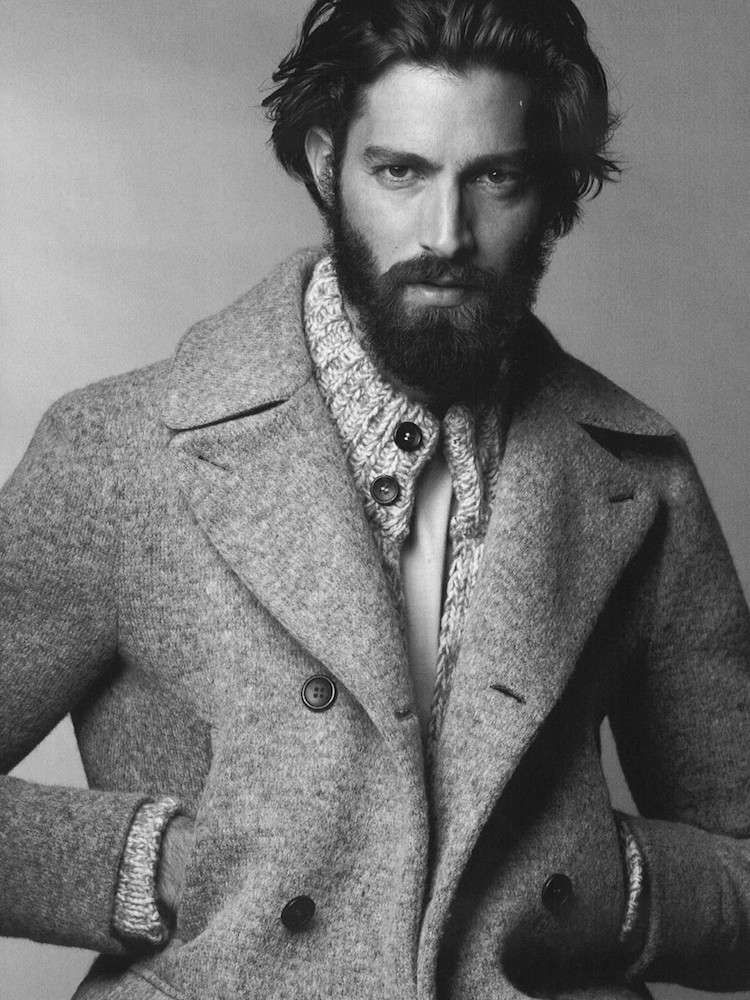 quel style barbe choisir cheveux mi longs style dandy