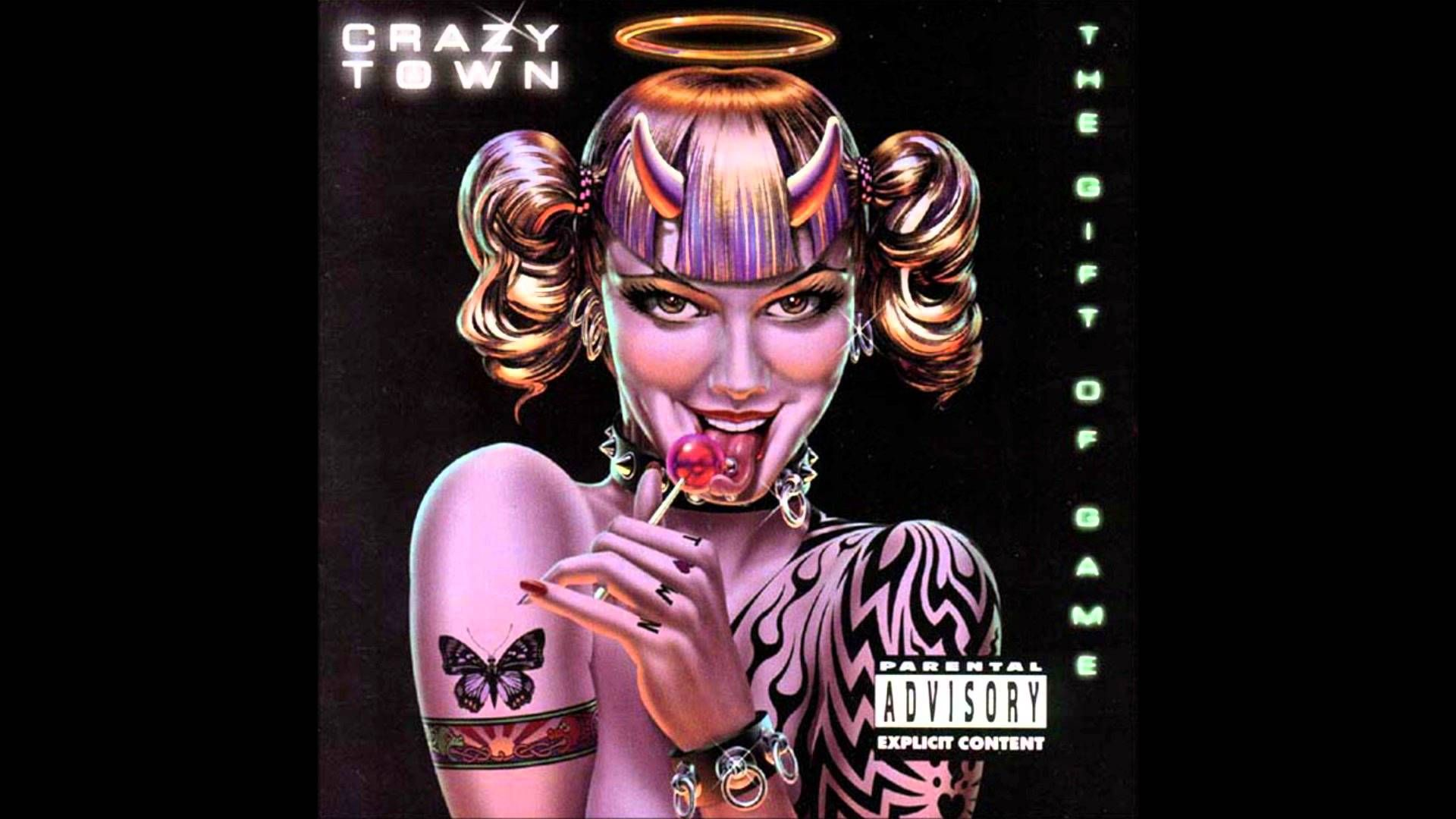 Crazy Town Butterfly Butterfly, Cover art, Angel