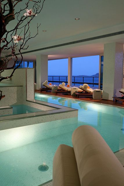 Exceptional But It Is A SWEET Indoor Pool Idea.like An Indoor Lazy River! I So Want  This In My House
