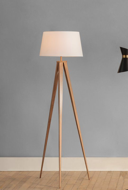 Luanda 60 Quot Tripod Floor Lamp Reading Lamp Floor Task