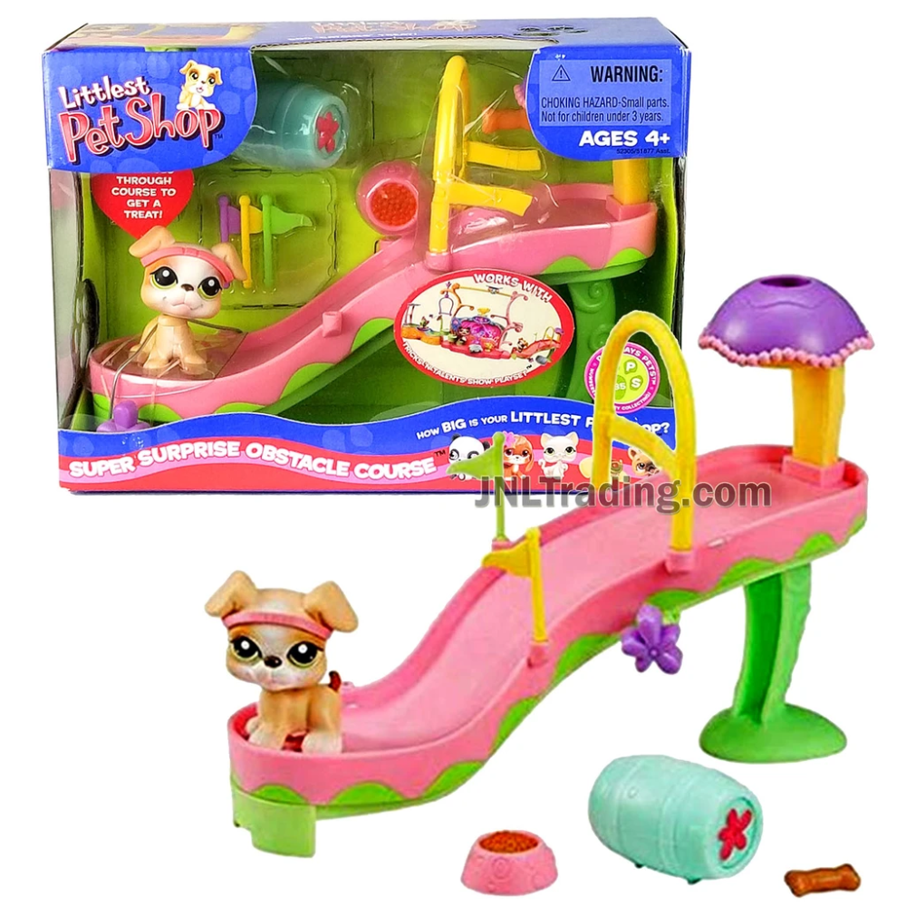 Year 2006 Littlest Pet Shop Lps Series Bobble Head Figure Set Super Surprise Obstacle Course With Boxer 235 Puppy Dog In 2020 Littlest Pet Shop Little Pets Dogs And Puppies