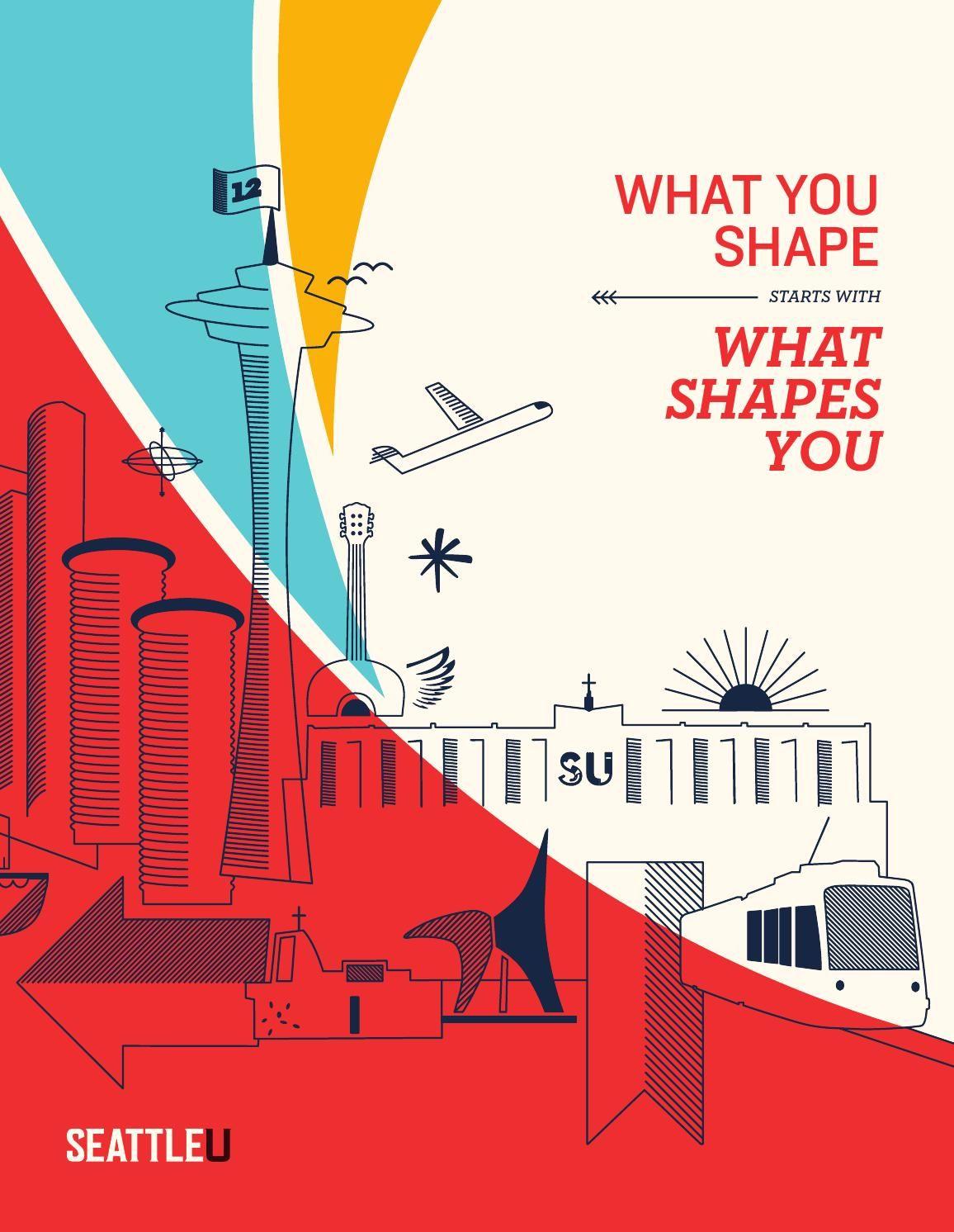 Undergraduate Viewbook Education Poster Design Seattle University Admissions Poster