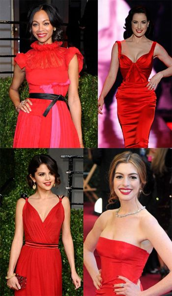 Trend Alert Red Dress Red Lips Evening Outfit Perfection