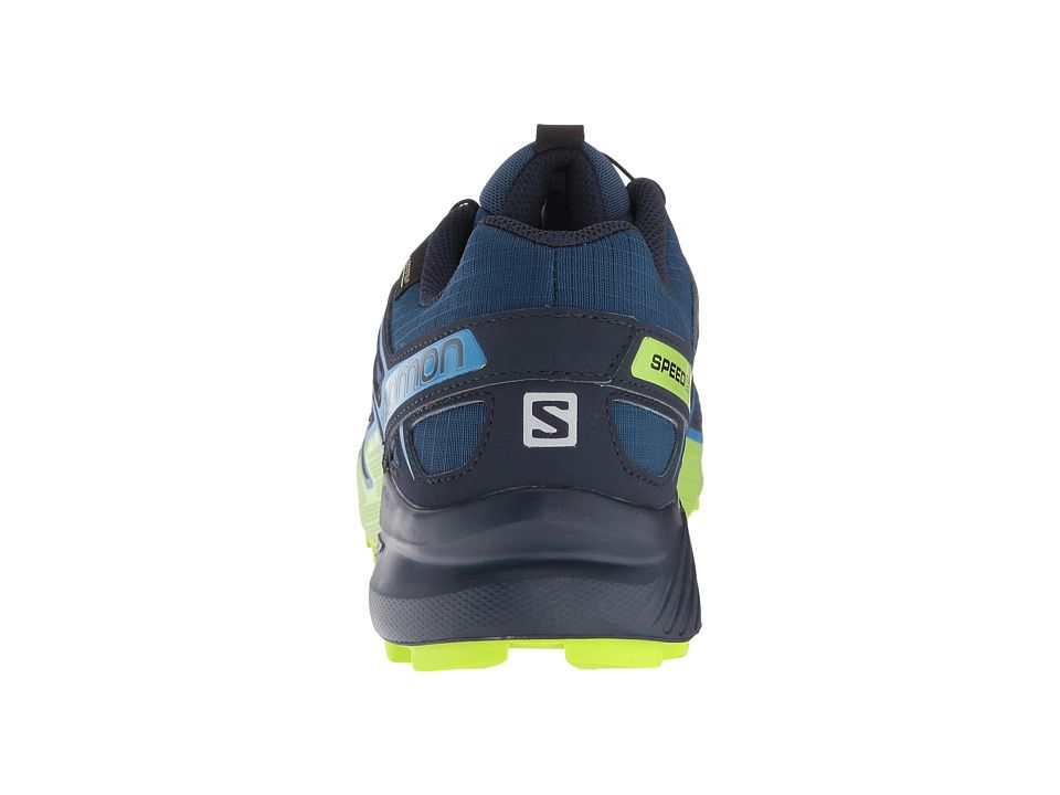 SALOMON Speedcross 4 GTX poseidonnavy blazerlime green