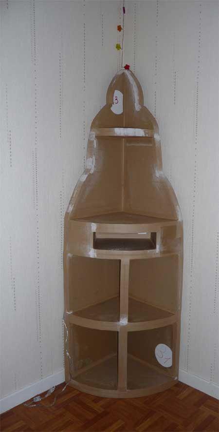 1ere Photo meuble d\u0027angle Articles, Blog and Cardboard furniture