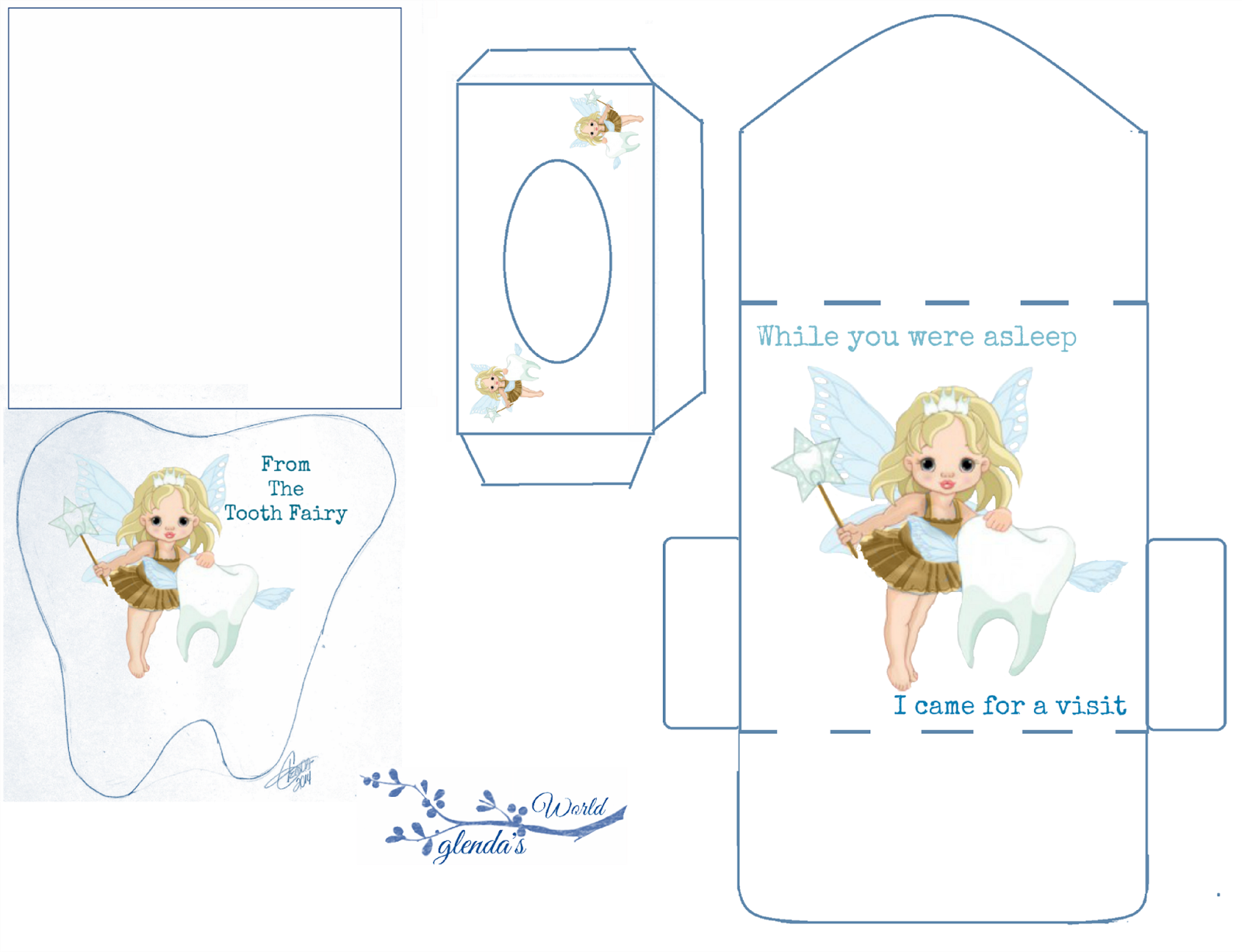 Tooth Fairy Printables With Images