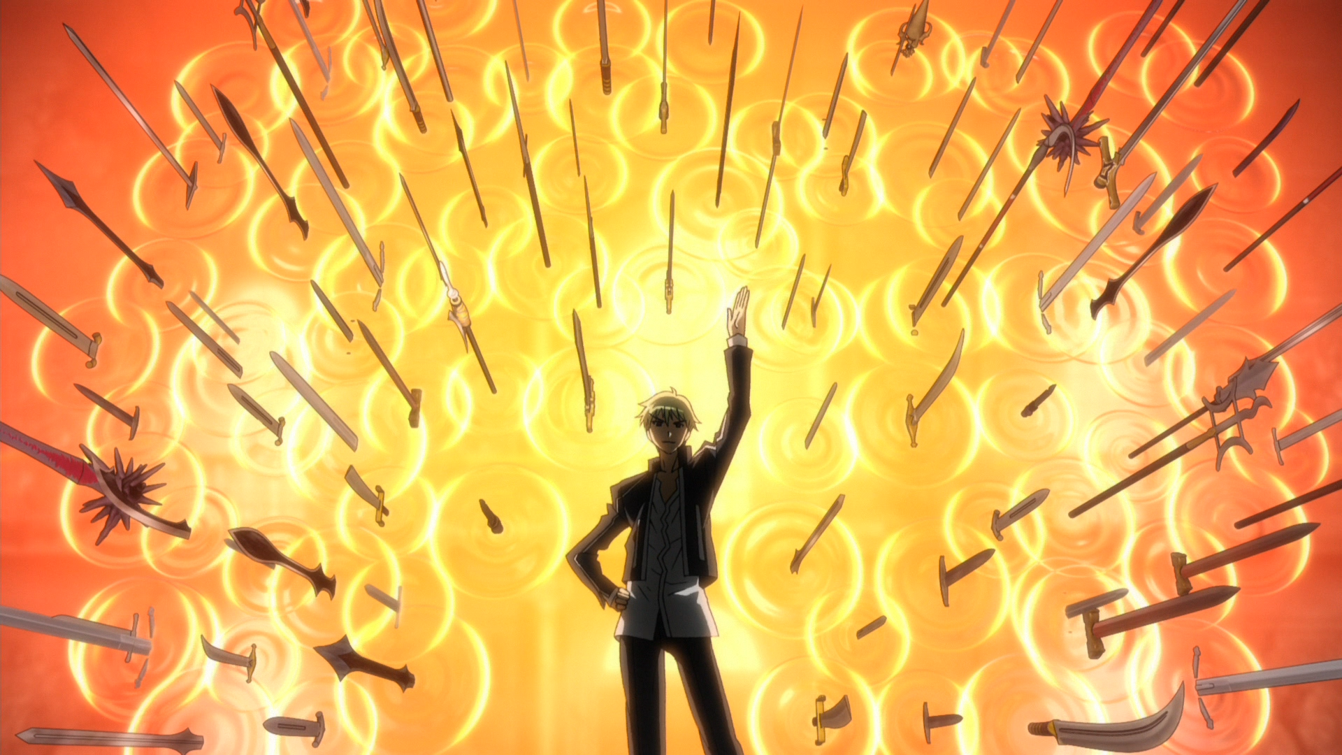 电影 Fate Stay Night Unlimited Blade Works 壁纸 Personagens De