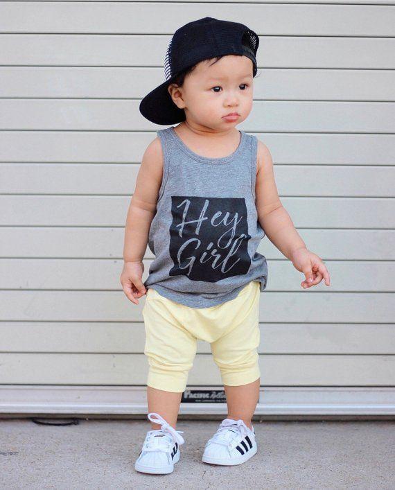 897ea3a1c Yellow toddler harem shorts / Hipster baby boy shorts / Hipster boy  clothing / Trendy Baby harem sho