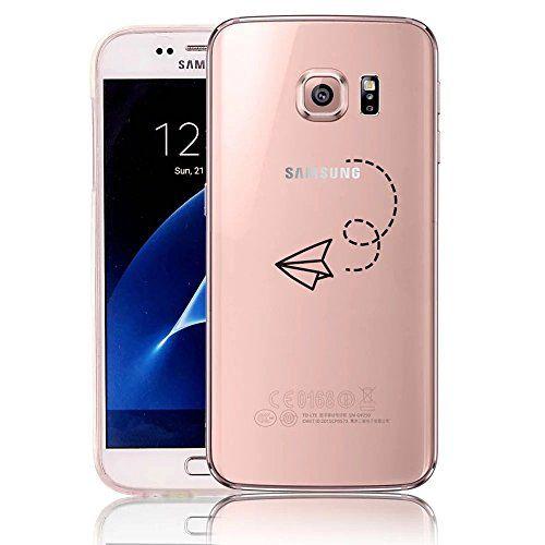 Vandot Etui Transparent pour Samsung Galaxy S7 Coque de Protection en TPU Gel Invisible avec Absorption de Chocs Housse Silicone Case Cover