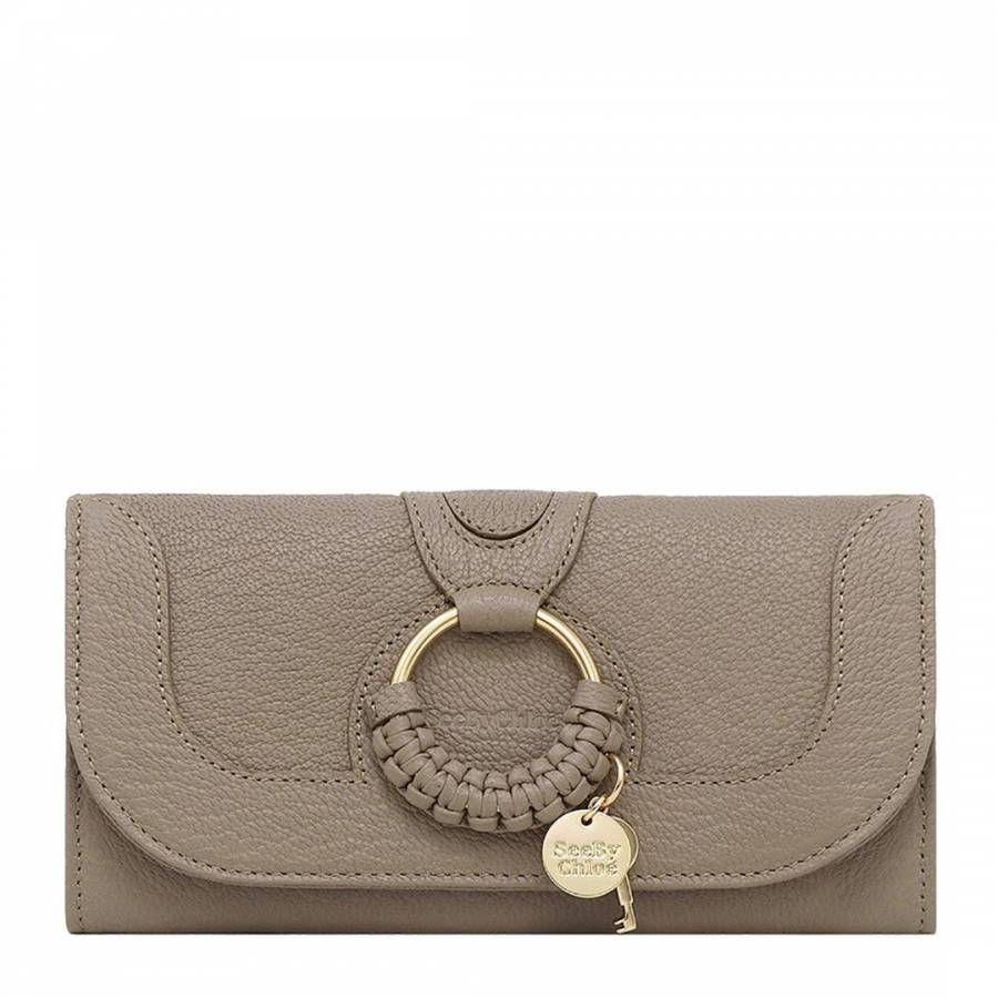 Grey Leather Chloe Wallet #seebychloe
