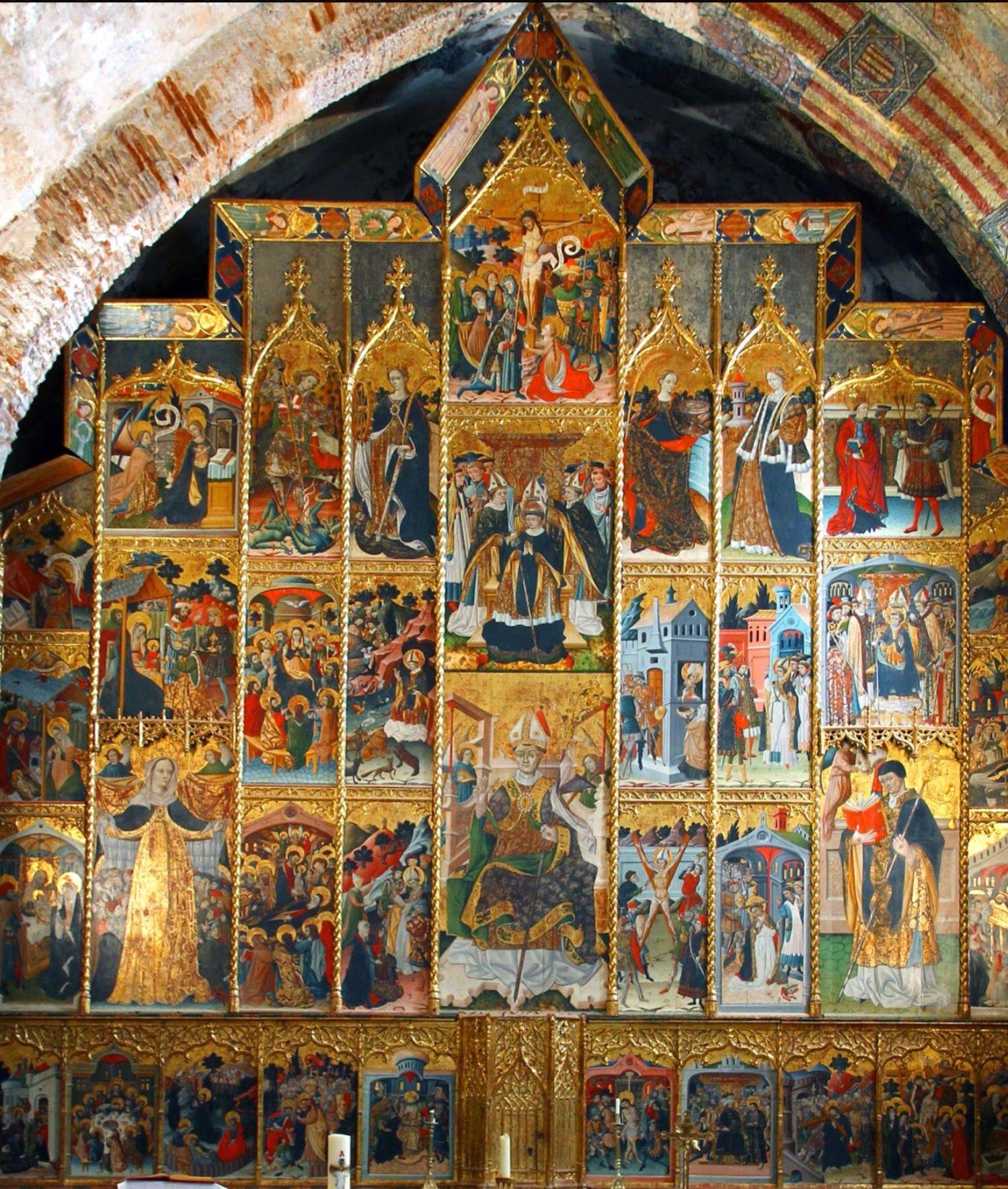 Resultado de imagen de retablo Anento
