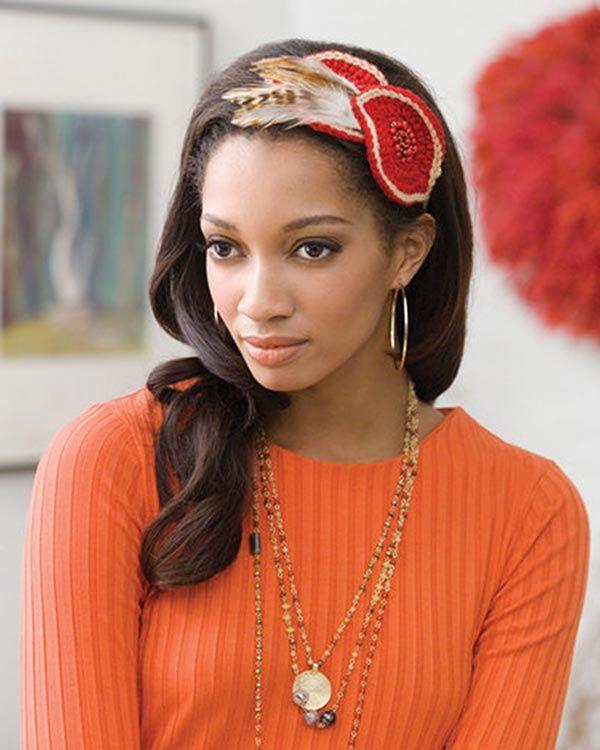 Best Free Crochet » Free Fascinator Headband Crochet Pattern from ...