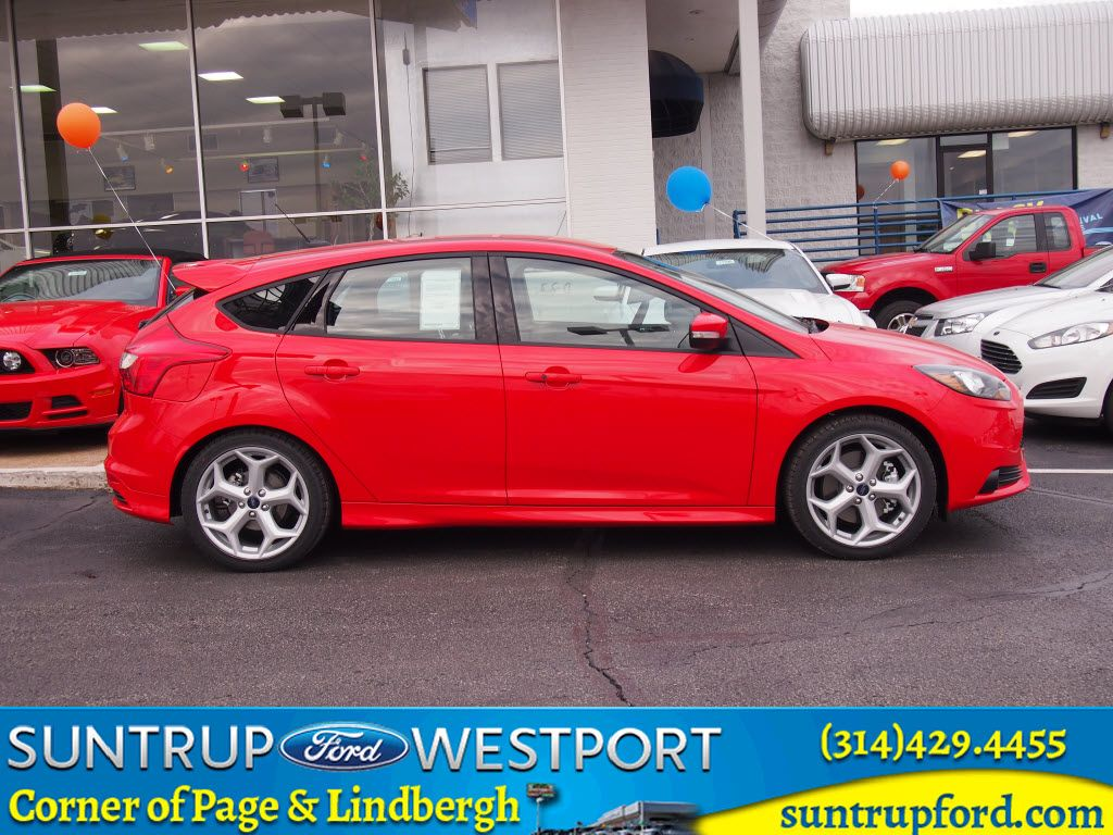New 2014 Ford Focus ST For Sale at Suntrup Ford Westport in Saint Louis, Missouri.