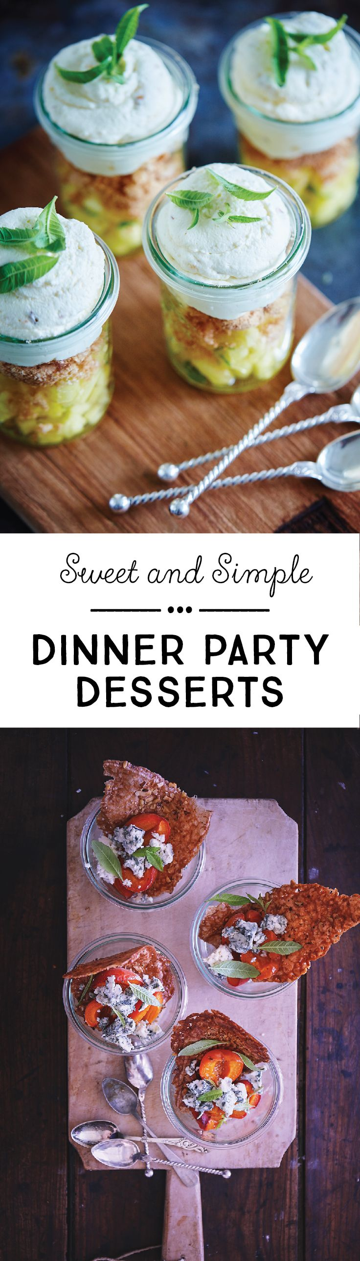 No dinner party is complete without an indulgent dessert