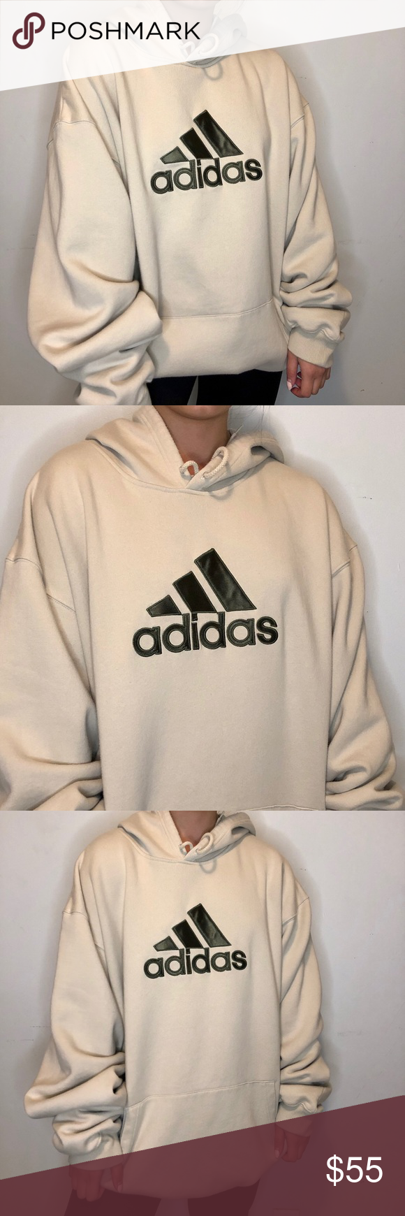 Vintage Adidas Cream Trefoil Hoodie Vintage Adidas Cream Trefoil Hoodie Long Sleeve Sweater With Black Graphi Vintage Adidas Adidas Sweater Long Sleeve Sweater [ 1740 x 580 Pixel ]