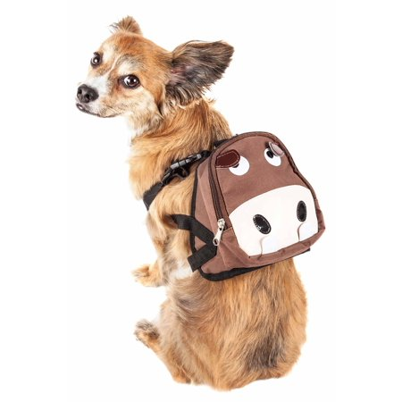 Pet Life Mooltese Large Pocketed Compartmental Animated Dog