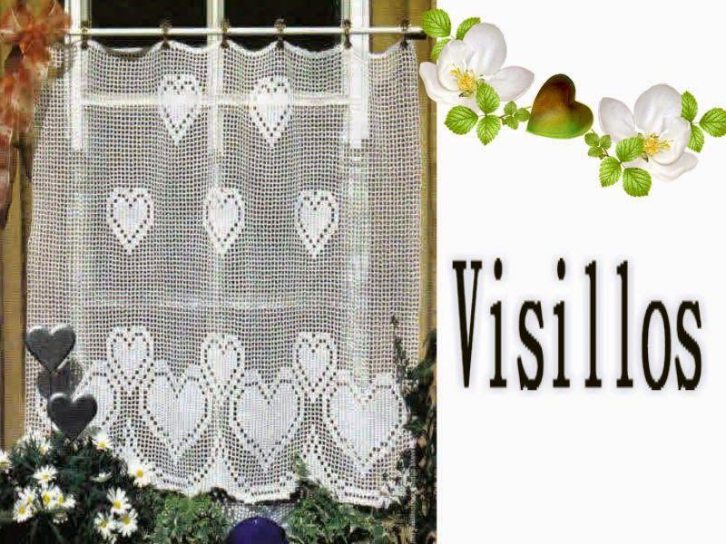 Delicadezas en crochet Gabriela: Visillos para ventanas chicas ...
