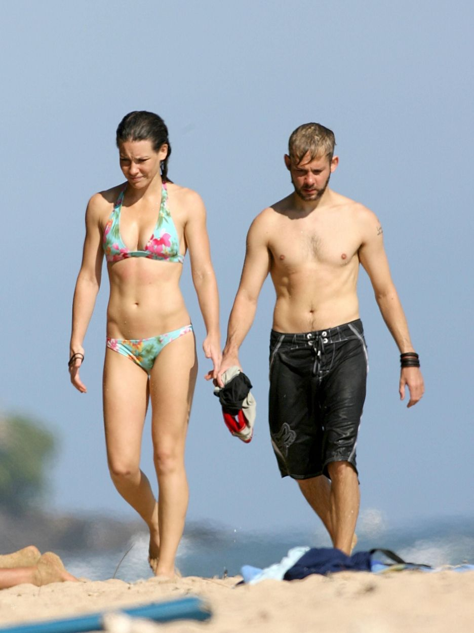 Evangeline Lilly and Dominic Monaghan