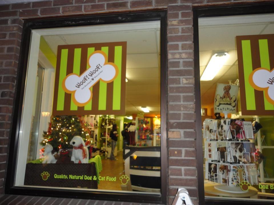 Christmas Window Display Banho E Tosa Fachadas De Lojas