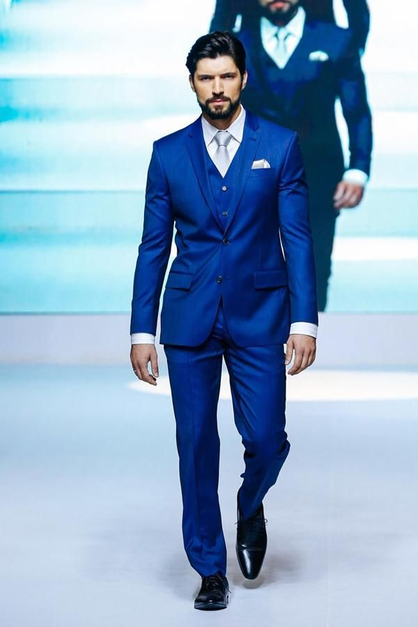 Click To Buy Fashionable Mens Suits Groomsmen Groom Tuxedos Wedding Best Man