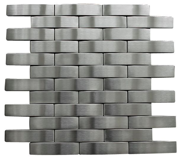 Silver Stainless Steel Subway Style Mosaic Tiles Free Shipping Mosaic Tiles Subway Style Mosaic
