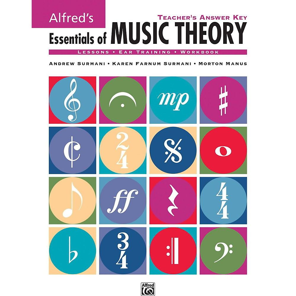 Alfred Alfred\'s Essentials of Music Theory: Teacher\'s Answer Key ...