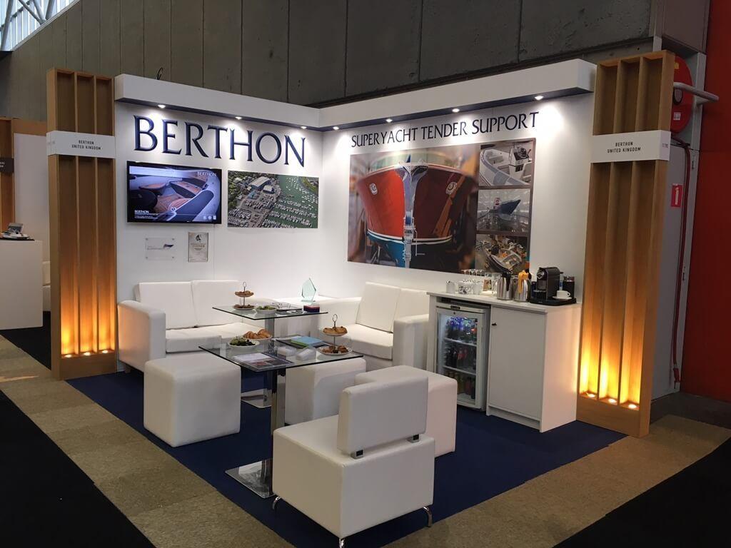 Exhibition Stand Design Tender : Metstrade exhibition stand berthon m m exhibition stands