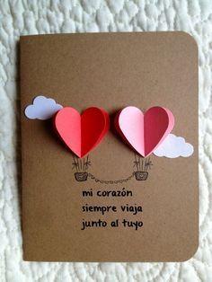 10 Nuevas Tarjetas Super Originales Para Felicitar En San Valentin - Manualidades-originales-para-regalar-en-cumpleaos