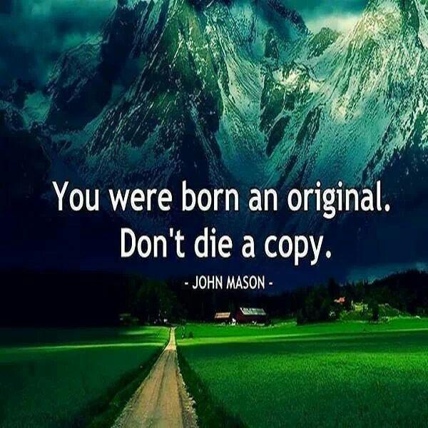 Not a copy
