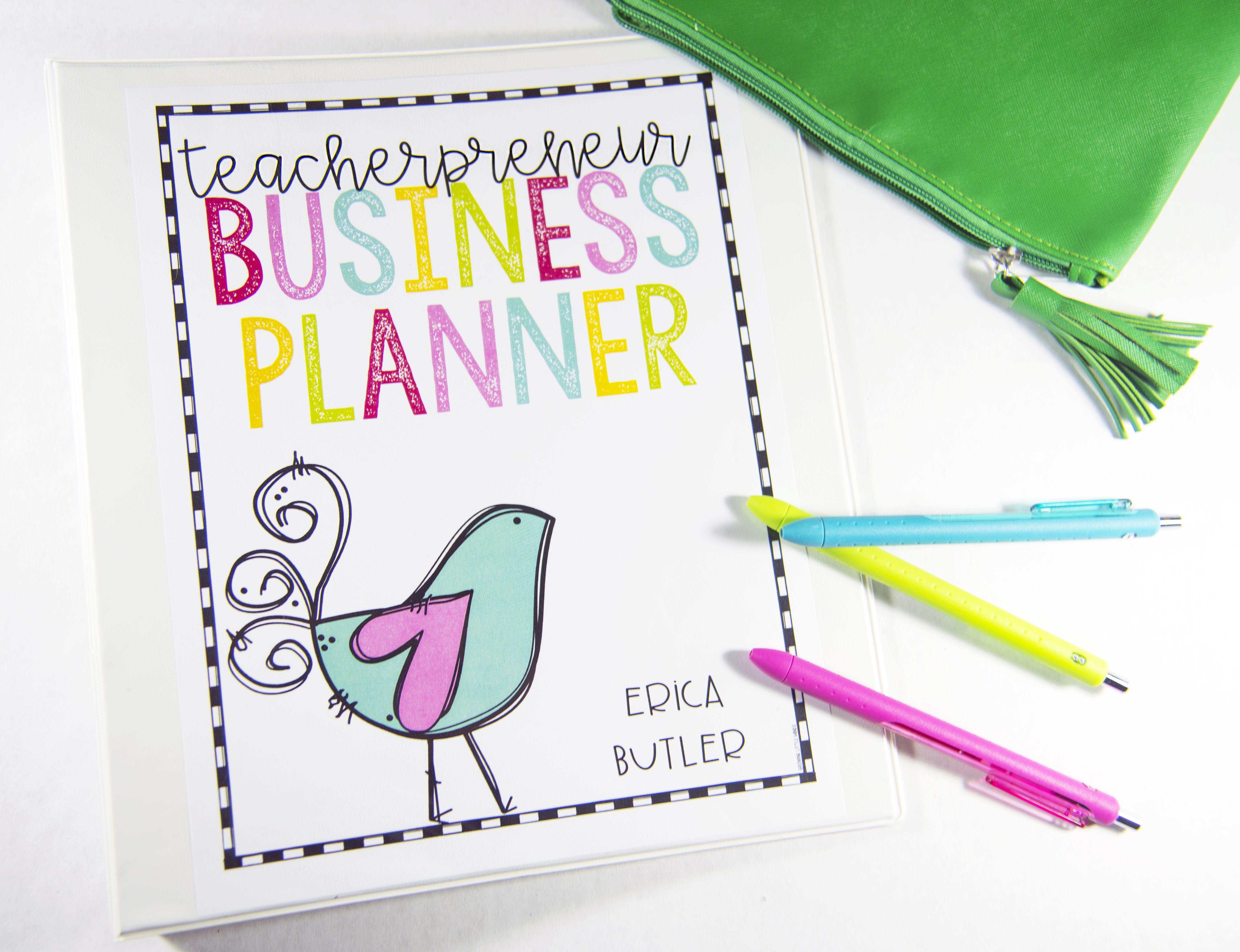 Keep Your Teacherpreneur Business Organized In With A