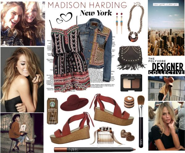 """""""Urban Bohemian with Madison Harding"""" by elske88 ❤ liked on Polyvore"""