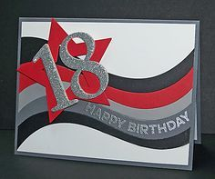 A Star at 18 by Doodledop - Cards and Paper Crafts at Splitcoaststampers