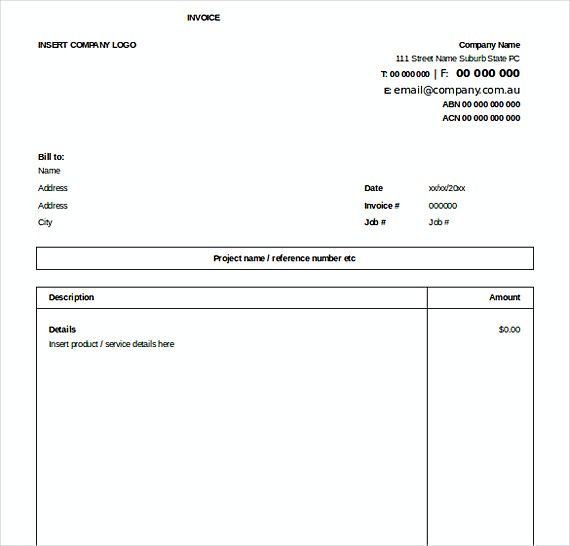 Excel Invoice Free templates , Downloadable Invoice Template , How ...