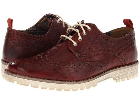 Hush Puppies 1958 Brogue Lug Red Leather Zappos Com Sneaker Outfits Women Brogues Hush Puppies