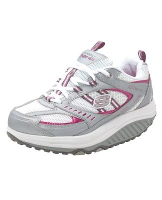 zapatos deportivos skechers shape ups red