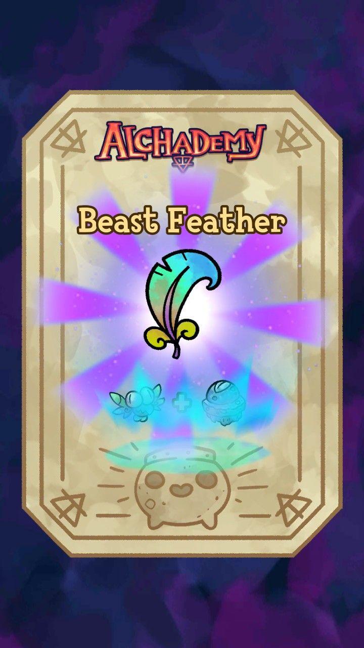 Pin by Gacha Worrior on alcamist app Feather, Beast