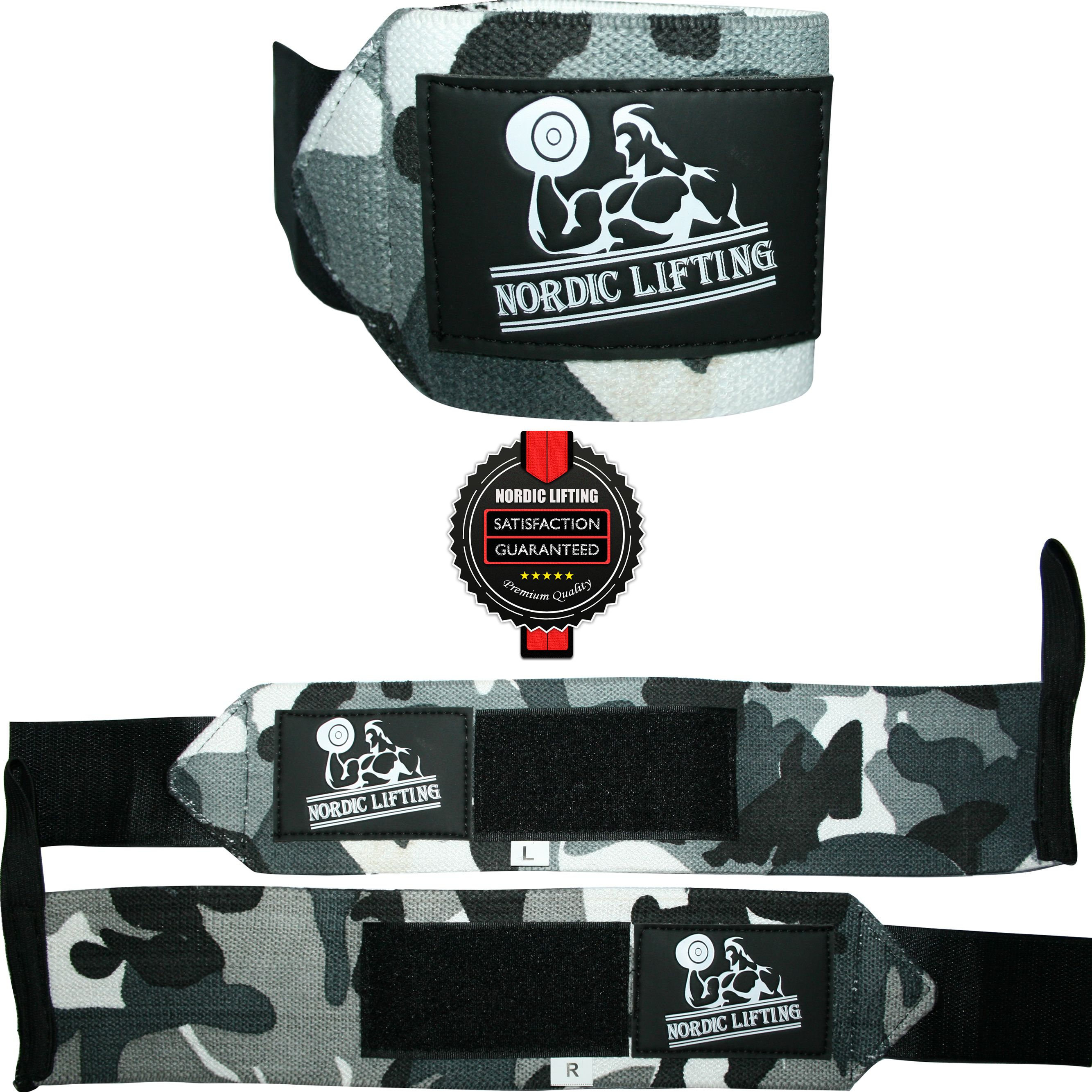 """Women/'s Army Camouflage 12/"""" Wrist Wraps CrossFit Workout Weightlifting Fitness"""
