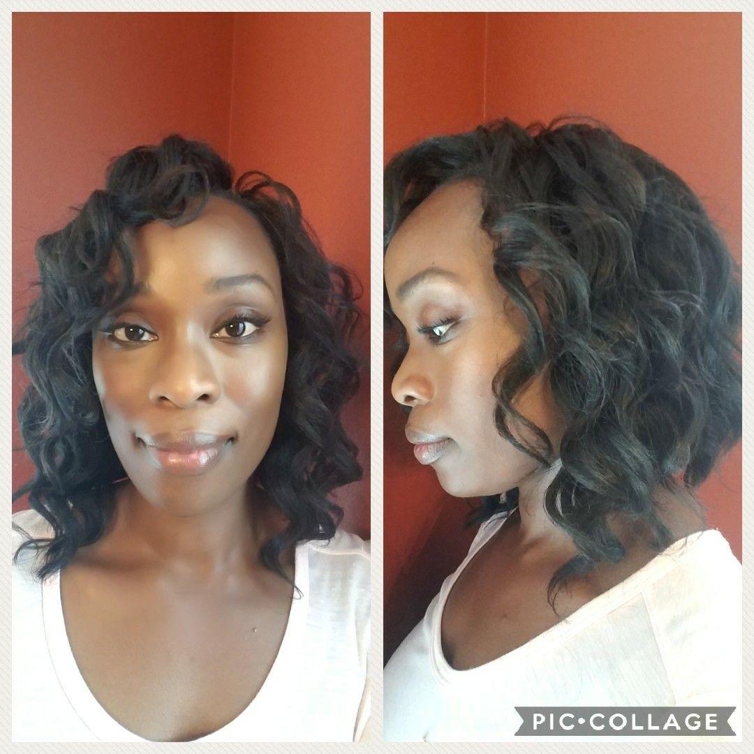 Kima braid Ocean wave Weave hairstyles, Cool hairstyles