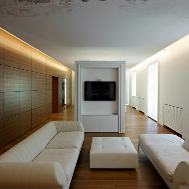 Dise o de interiores de casas modernas murales para casa for Casas modernas recorrido virtual