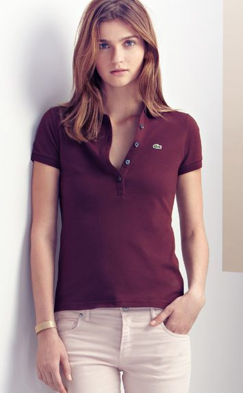 8d94ab321586bb Pin by Cherryl Ann Opon on Ootd   Pinterest   Shirts, Lacoste polo and Polo